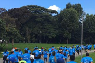 La carrera 5k- Servidores por Bogotá