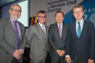 Congreso Internacional, Prospectiva del Servicio Civil para la construcción de una Bogotá Mejor para Todos.