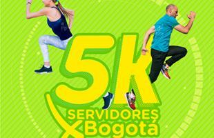 "CARRERA RECREODEPORTIVA 5K ""SERVIDORES POR BOGOTÁ"""